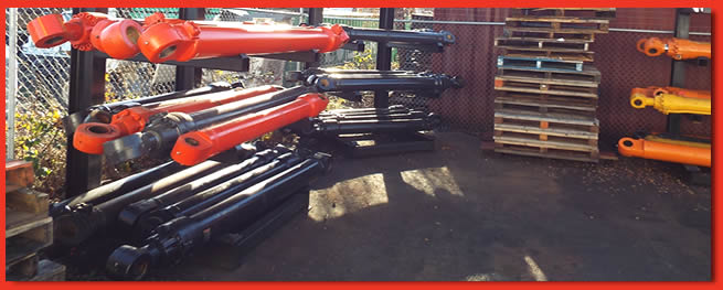 Hydraulic Cylinders in Stock