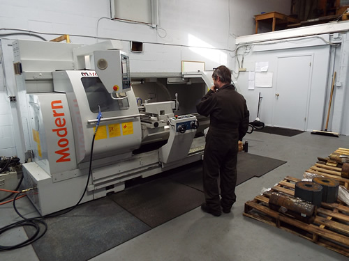 Fully Equipped Machine Shop - For all general machine work.